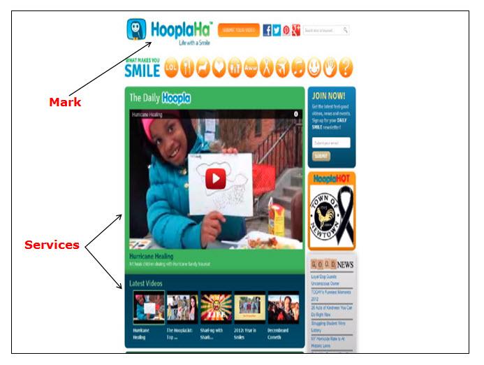 HooplaHa网页的屏幕快照,其中显示了一个播放按钮,用于播放有关飓风康复的视频,并显示可观看的其他主题的最新视频。
