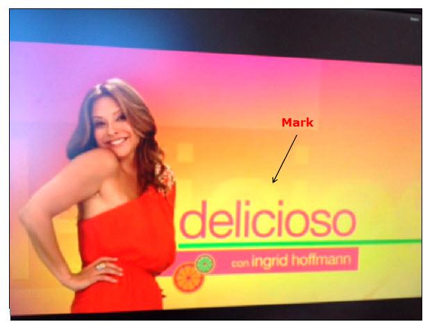 有关烹饪的电视节目的标题屏幕的屏幕截图。